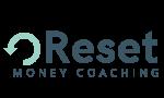Copy of Reset Money Coaching Logo - White background turquoise